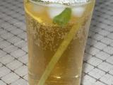 Mátový ledový čaj s citronem a medem recept