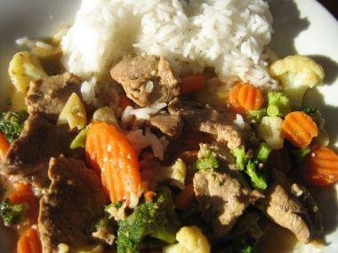 Recept Vařené hovězí maso se zeleninou