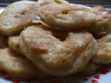 Smažené jablíčkové kroužky recept