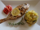 Grilovaný Mořan s bylinkami recept