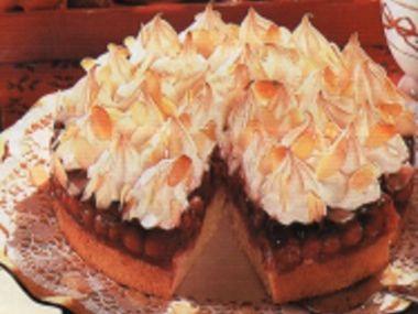 Třešňový dort s bezé