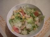 Lehký kuřecí salát recept