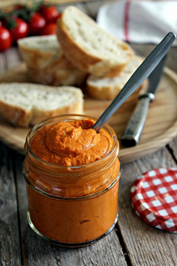 Pomazánka z pečených paprik (veggie) recept