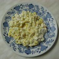 Míchaná vejce se zakysanou smetanou recept