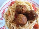 Tuňákové koule se špagetami recept