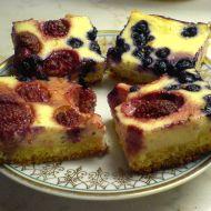 Ovocné tvarohové řezy recept