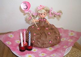 Panenka  dort pro malé panenky recept