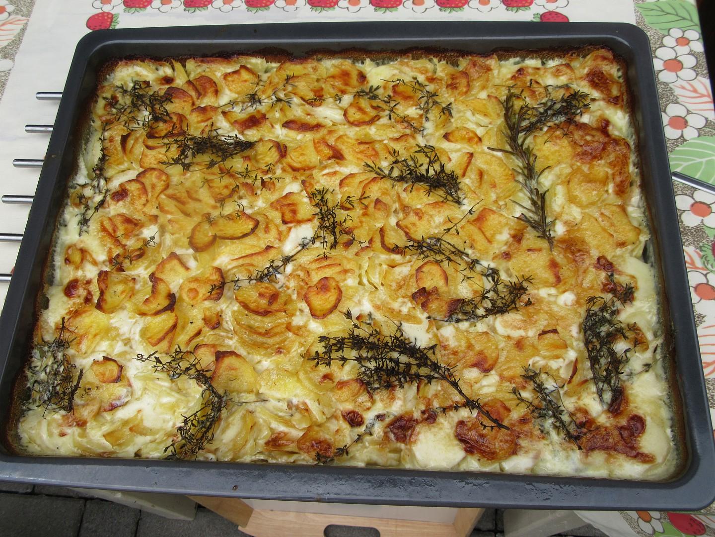 Smetanové brambory pana šéfkuchaře recept