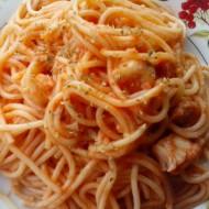 Špagety s treskou, rajčaty a oreganem recept