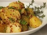 Brambory s hrubozrnnou hořčicí a tymiánem recept