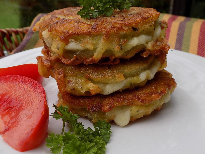 Lilek se sýrem v bramboráku recept