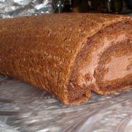 Šlehačková kakaová roláda recept