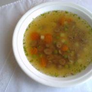 Polévka z kuřecích srdíček recept