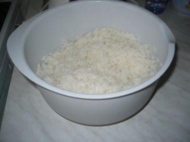 Rýže vařená v mikrovlnce