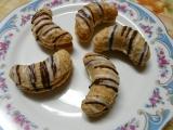 Rohlíčky s karamelovým krémem recept