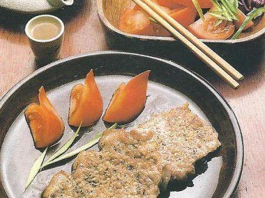 Kotlety na zázvoru (asijská kuchyně)
