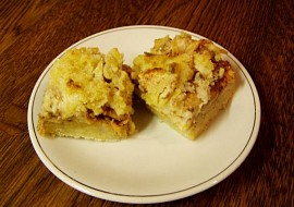 Bramborový koláč- natřesený recept