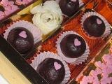 Jako třešně v čokoládě Třešňové pralinky s likérem recept ...