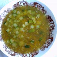 Cuketová polévka s koprem recept