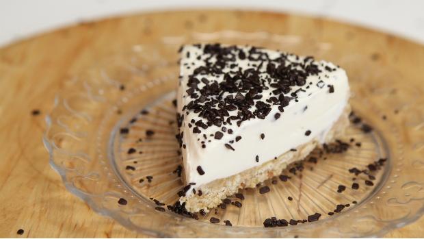 Nepečený cheesecake s mandlovým likérem