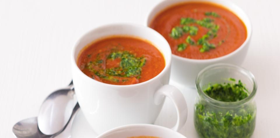 Rajská polévka s gremolatou