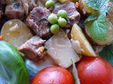 Pomalené plecko na zelenině a bylinkách recept