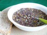 Čočková polévka s jelitem recept