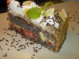 Makový dort  Mak- Mak  Makulenka / bez mouky/ recept ...