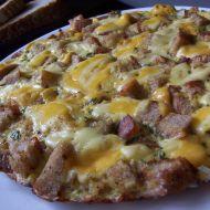 Vaječná omeleta s krutony recept