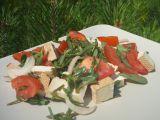 Salát ze šruchy zelné, rajčat a tofu recept