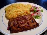 Marinované tofu s grilovanou červenou cibulkou  vegan recept ...