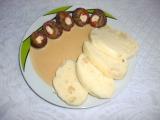 Hovězí roláda se surimi tyčinkami recept