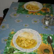 Kuřecí rarášci na žluto recept