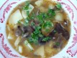 Houbová polévka recept