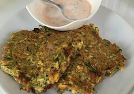 Cuketovo-mrkvové placky recept