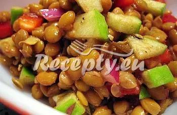 Čočkový salát recept  saláty