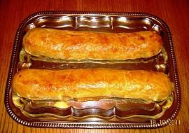 Jablečný závin  štrúdl ( nekynutý ) recept