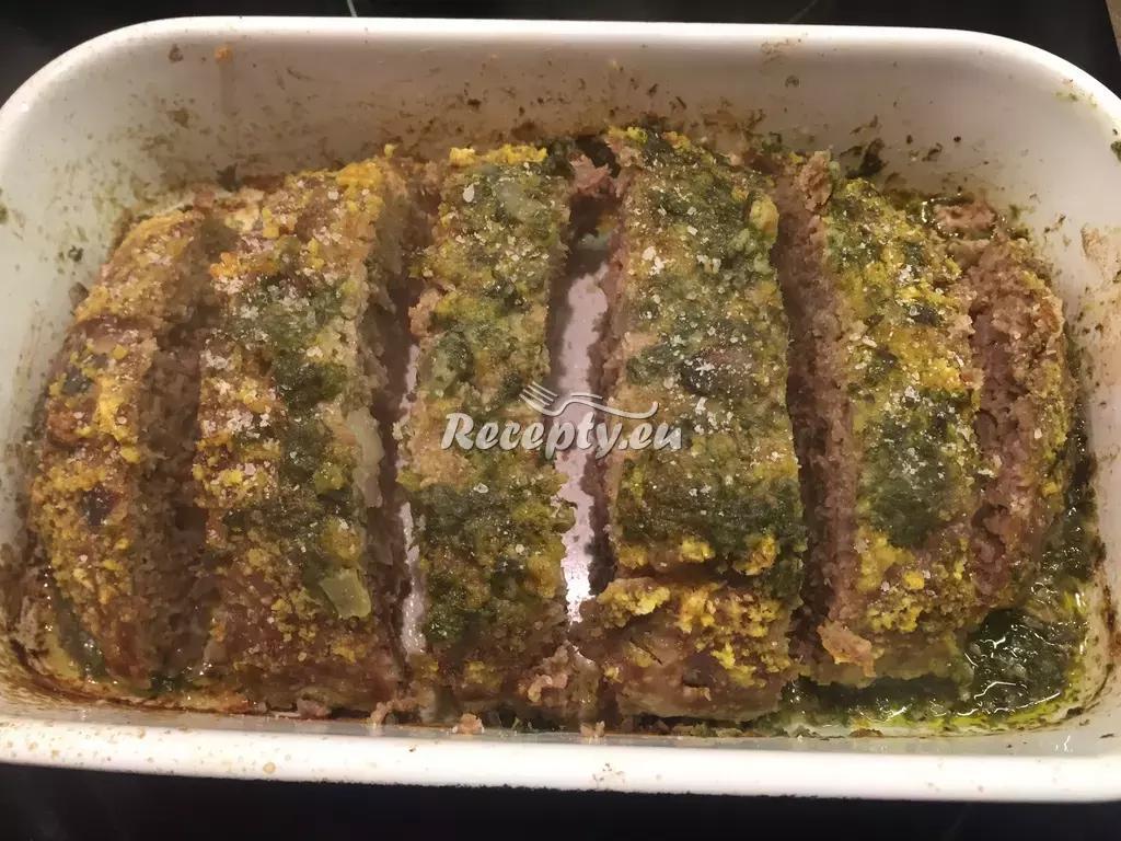 Dietní sójová sekaná recept  soja, tofu