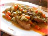 Vepřové plátky na zelenině recept