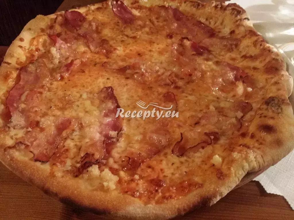 Bezlepková sýrová pizza recept  pizza
