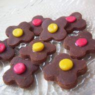 Kakaové kytičky recept