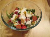 Salát rukola s cherry rajčátky a pomerančem recept