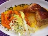 Pečené kuře s mrkvičkou recept
