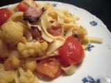 Těstoviny s opečenou zeleninou recept