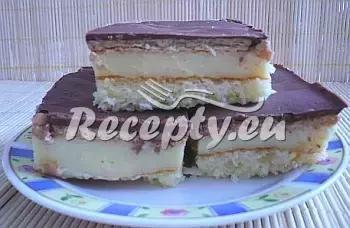 Pudinkový řez s BE  BE recept  dezerty