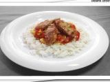 Kuřecí kousky s jasmínovou rýží recept