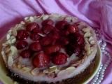 Andělsky lehký jahodový dort recept
