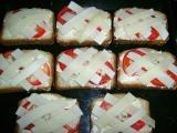 Toasty s rajčaty recept
