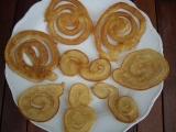 Smažené spirálky recept