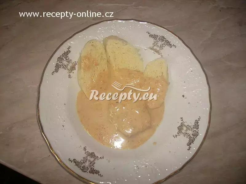 Vepřová kýta na smetaně s houskovým knedlíkem recept  vepřové ...